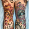 Melissa-Fusco-Denver-Colorado-Tattoo-Artist-tiger-mum-eyes-knee-tattoo-web