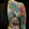 Melissa fusco denver colorado tattoo artist best color work ram wildlife back piece