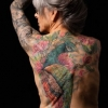 Melissa fusco evergreen denver colorado tattoo artist best color full back piece full sleeve large tattoo work