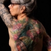 Melissa fusco evergreen denver colorado tattoo artist full back piece full sleeve large tattoo work