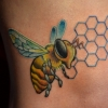 melissa-fusco-bees-knees-bee-tattoo-honey-comb-colorado-tattoo-artist-web
