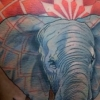 melissa fusco colorado tattoo artist elephant mandala tattoo