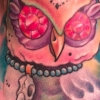 melissa-fusco-colorado-tattoo-artist-owl-day-of-the-dead-tattoo