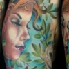 melissa fusco tattoo artist colorado nature woman sleeve