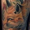 melissa-fusco-tattoo-artist-denver-colorado-fox-tattoo-thigh-piece-large-scale-work-best-color--web