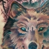 melissa fusco wolf tattoo denver artist colorado