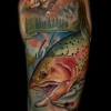 melissa melis fusco denver tattoo artist trout fish black sage studio cover up tattoo laser removal denver