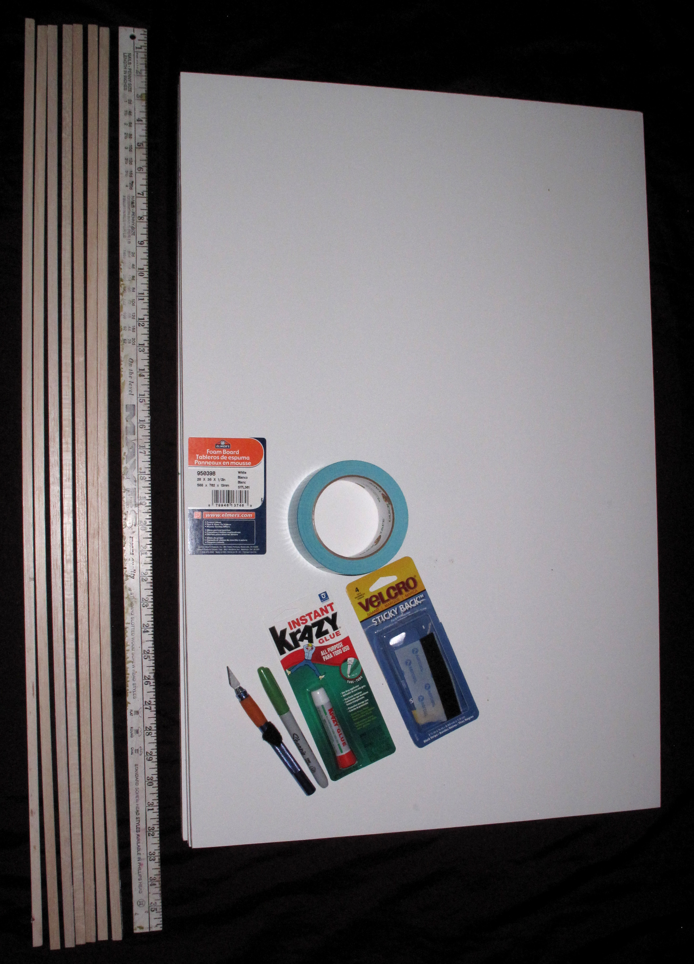 1 painting box supplies